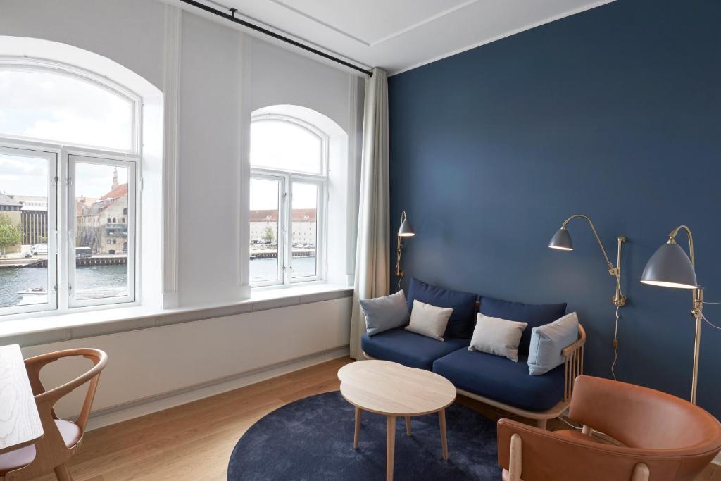 Dans le centre ville de Copenhague, l'hôtel Copenhagen Strand.