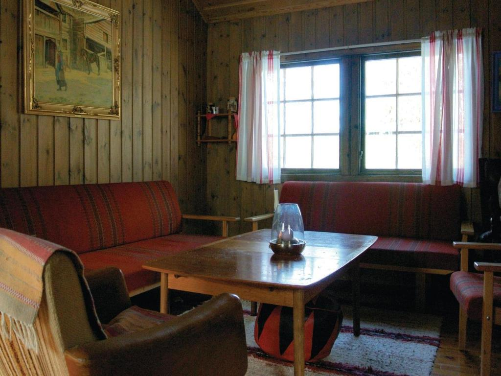 holiday home vatnestrom with fireplace i dovland norway