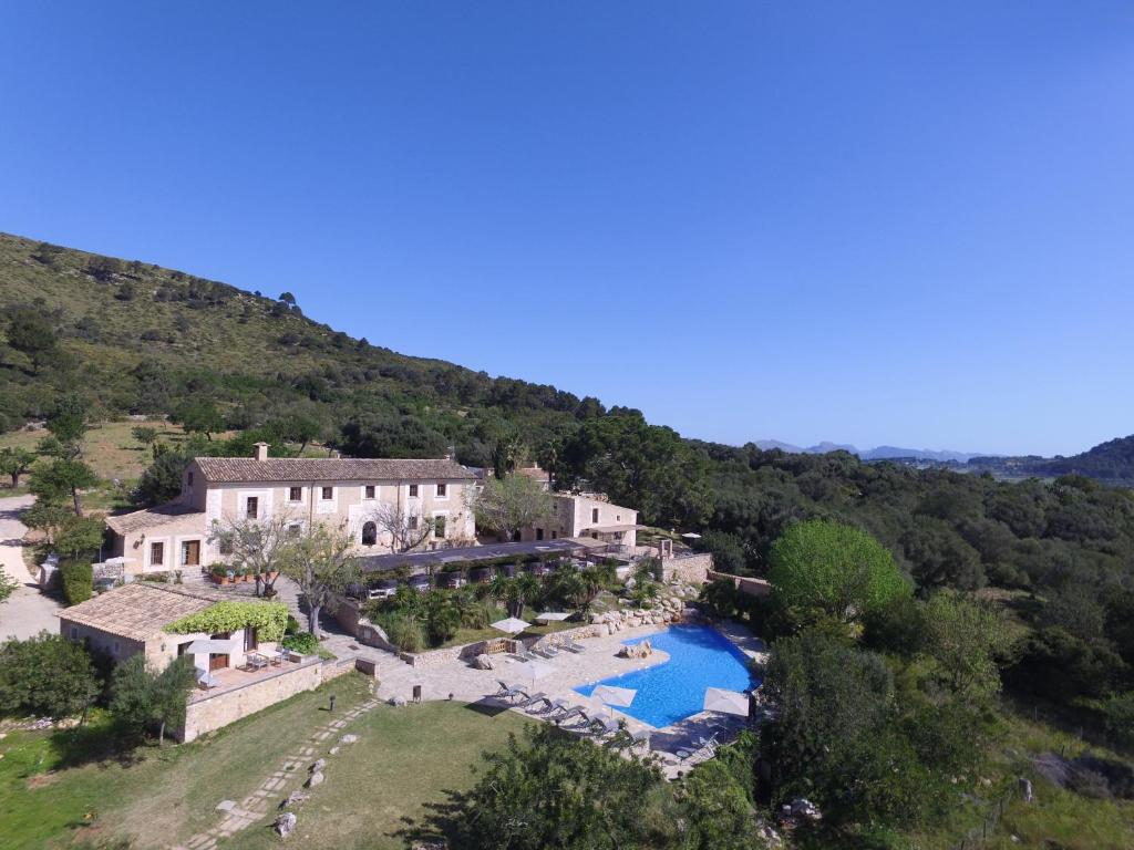 A bird's-eye view of Son Siurana