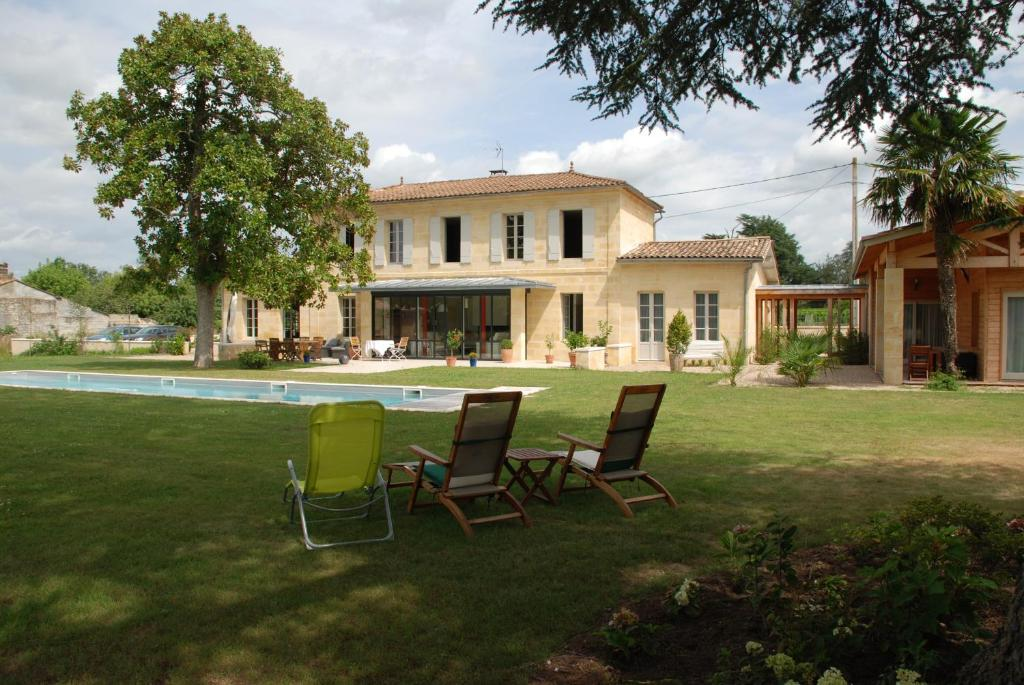 Bed And Breakfast Les Ambles SaintMagneDeCastillon France