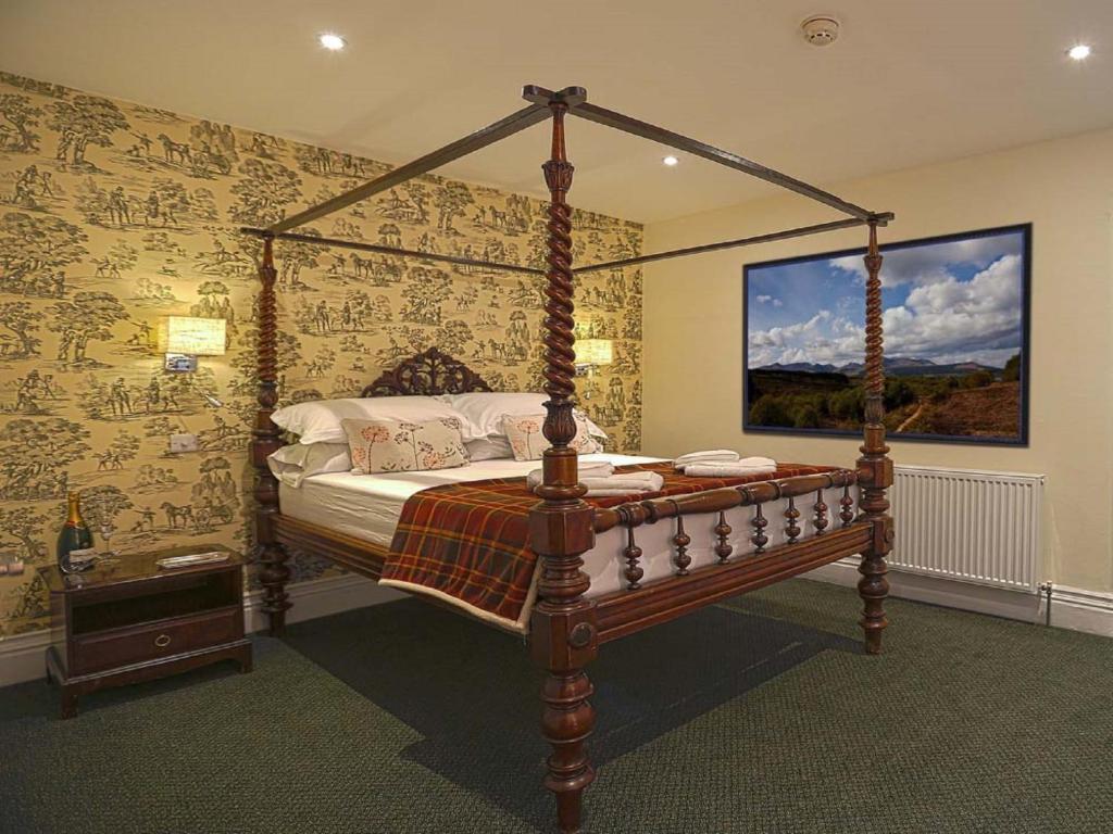 En eller flere senger på et rom på The Royal Station Hotel