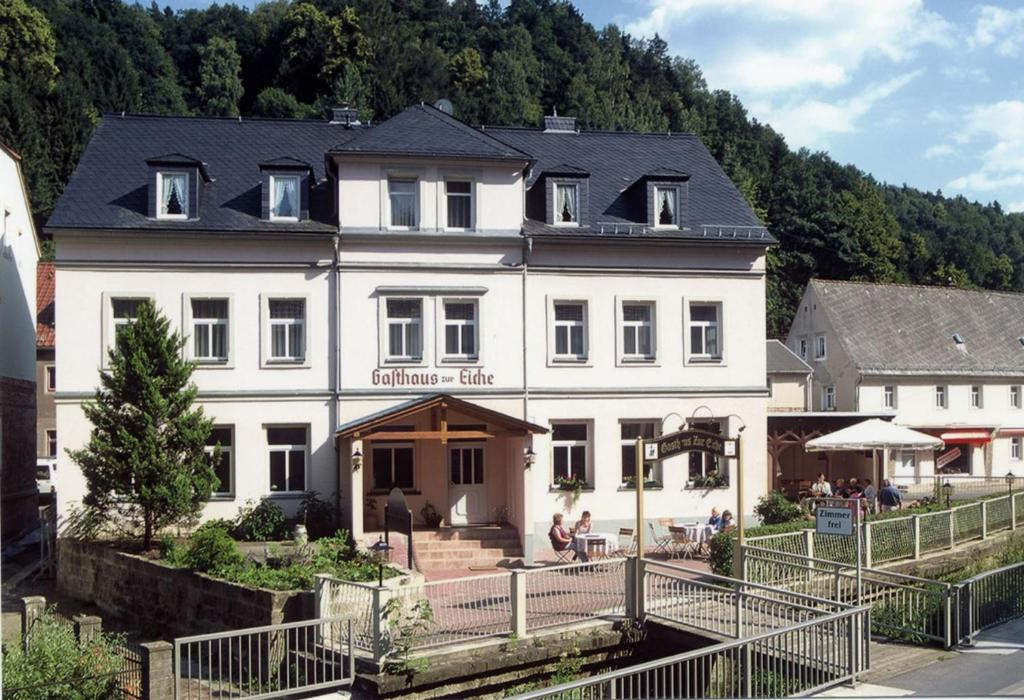 hotel gasthaus zur eiche deutschland bad schandau. Black Bedroom Furniture Sets. Home Design Ideas