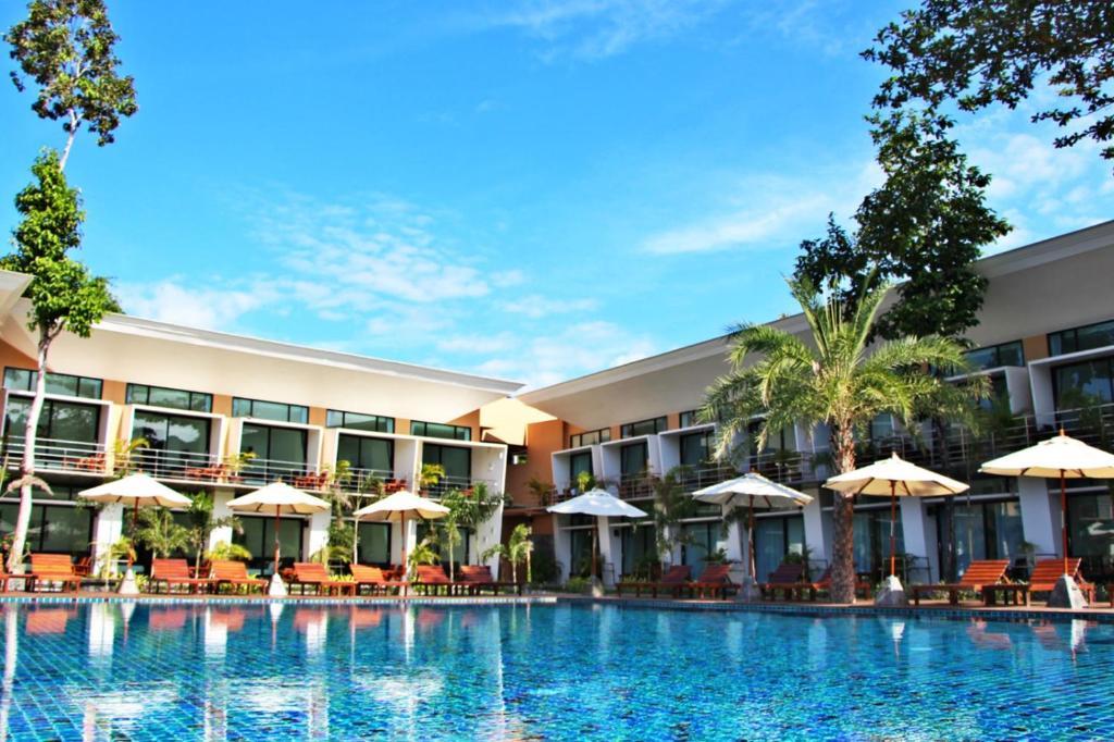Piscina en o cerca de Bundhaya Resort