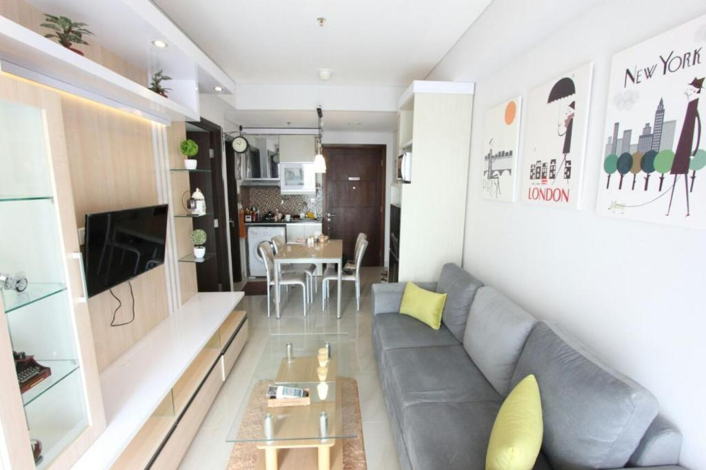 Cozy Apartment At Aspen Jakarta Indonesia Booking Com