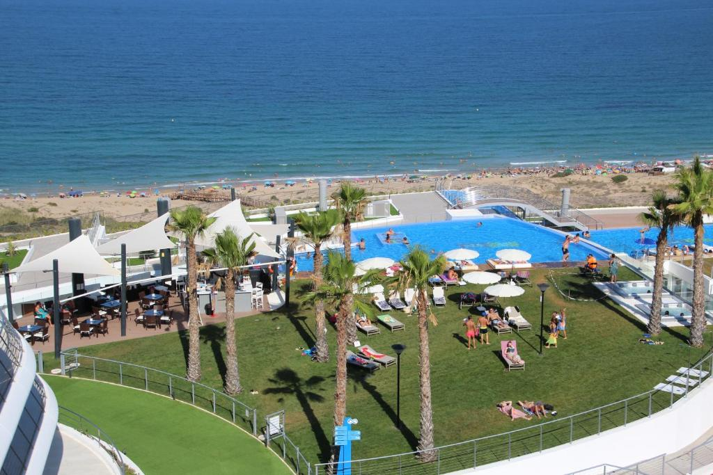 infinity view penthouse apartment, arenales del sol, spain - booking