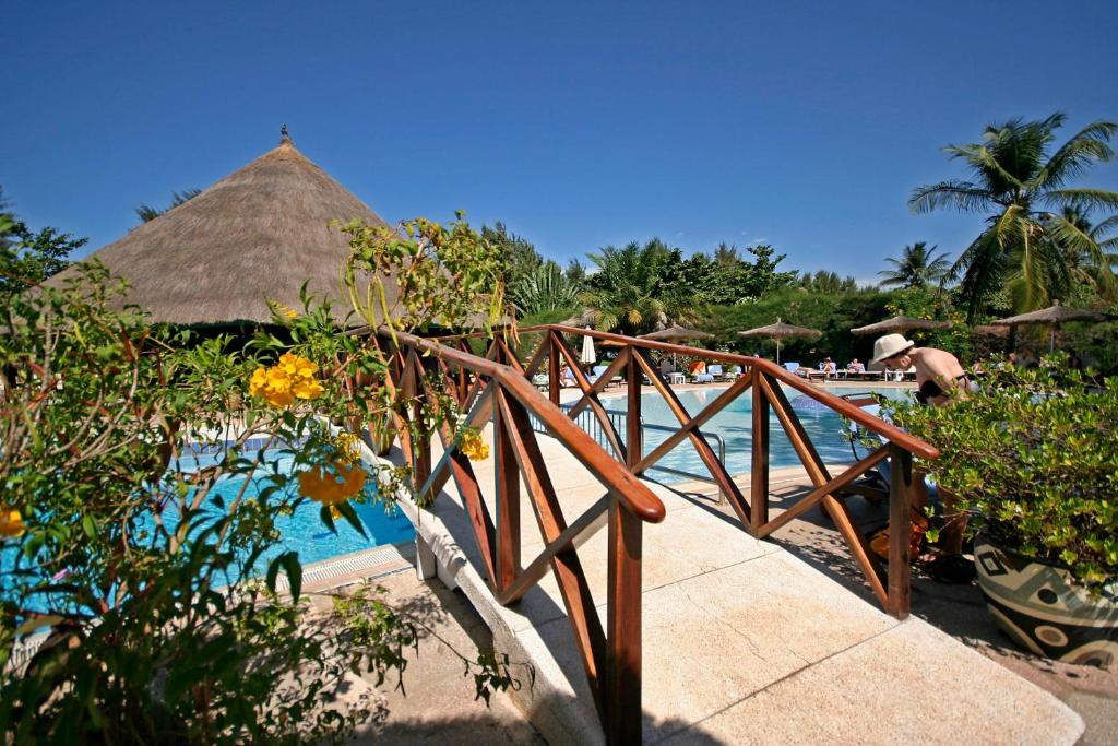 A view of the pool at The Kairaba Beach Hotel or nearby