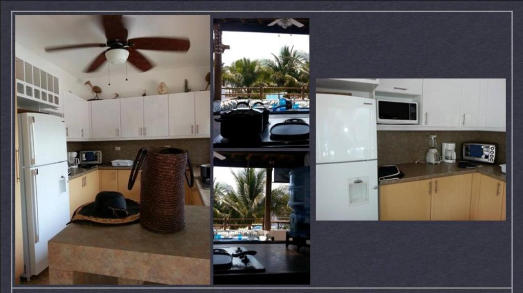 A kitchen or kitchenette at Apartamento Pacifico