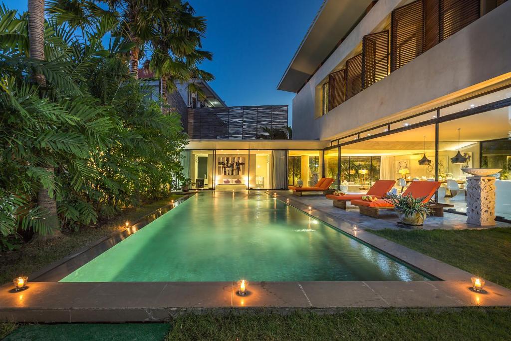 The swimming pool at or near Villa Mikayla by Nagisa Bali