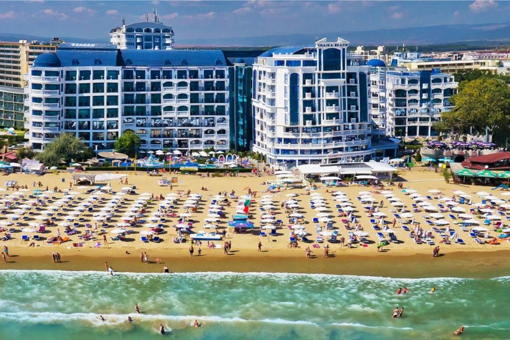 Солнечный Берег — один из самых больших пляжных курортов Болгарии!