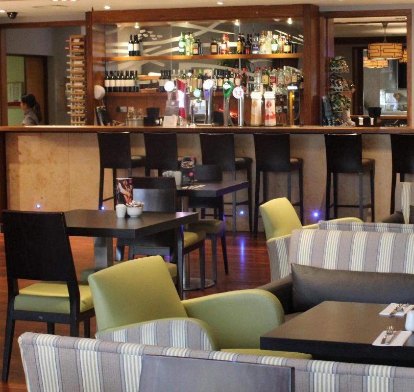 The lounge or bar area at Clayton Hotel Liffey Valley