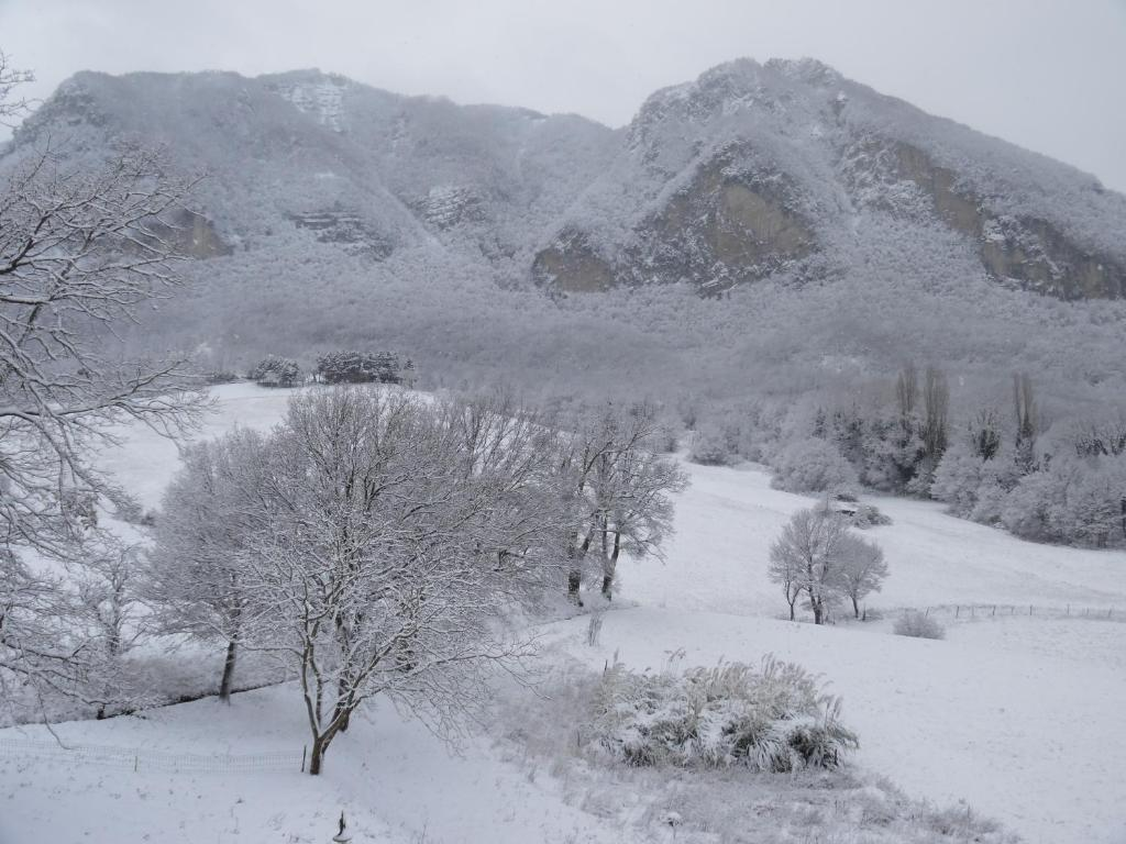 Agriturismo I Fondacci during the winter
