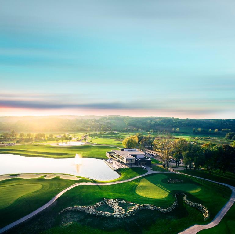 A bird's-eye view of Zala Springs Golf Resort