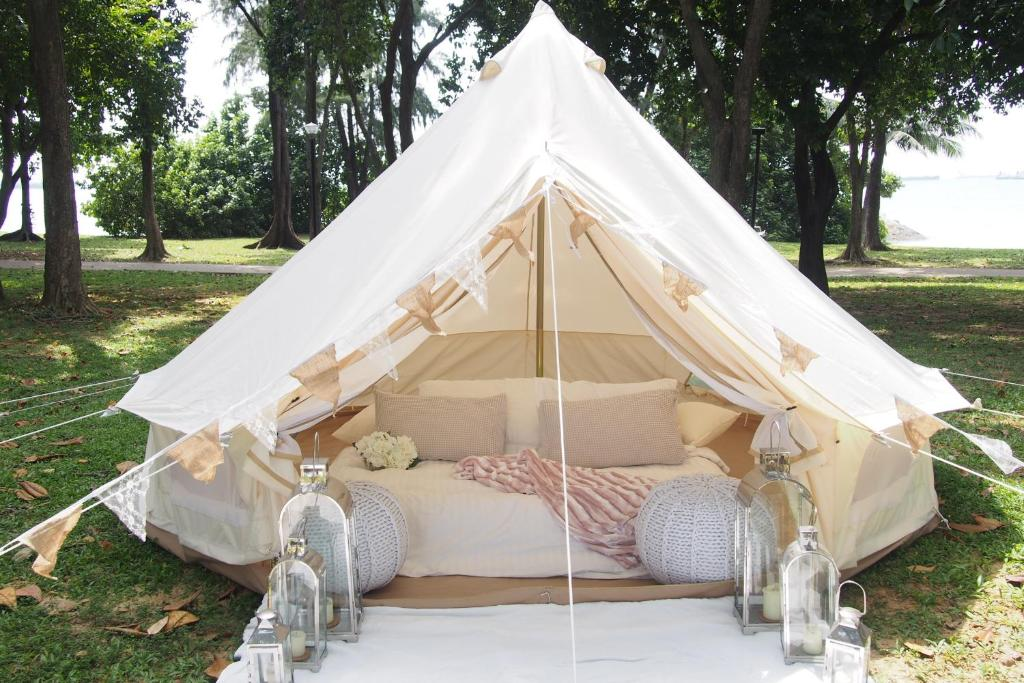 Gallery image of this property & Hotel Glamping Society - Medium Bell Tent Singapore Singapore ...