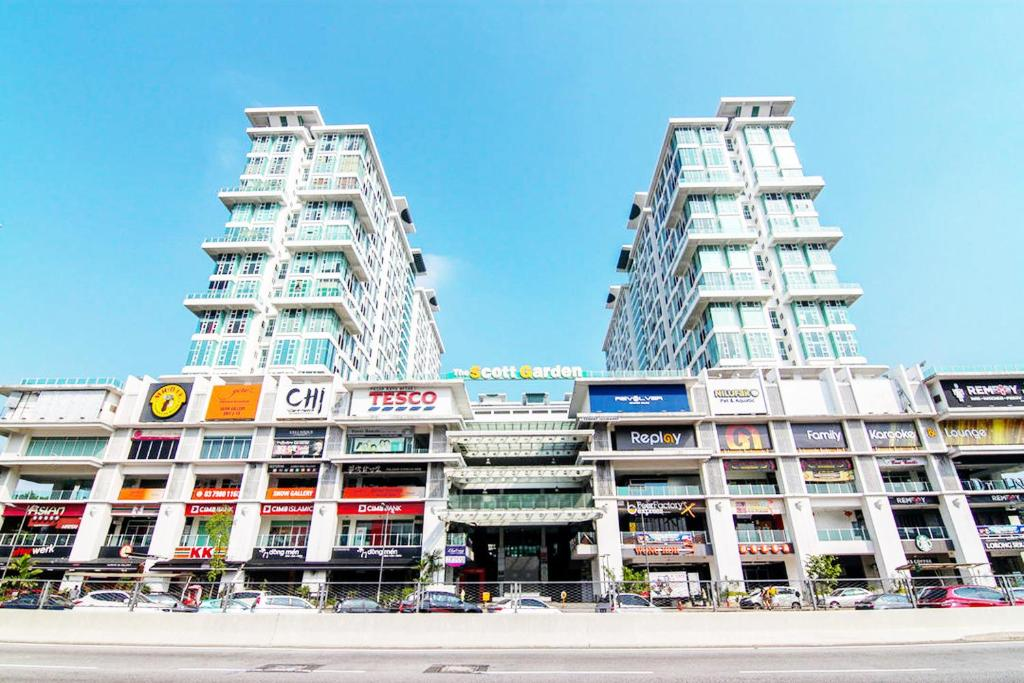 Apartment Scott Garden 2 Mid Valley Megamall Kuala Lumpur Malaysia -