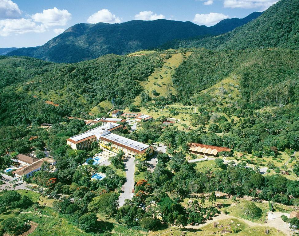 A bird's-eye view of Plaza Caldas da Imperatriz Resort & Spa