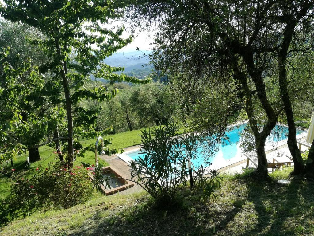 A view of the pool at Loggia del Centone or nearby