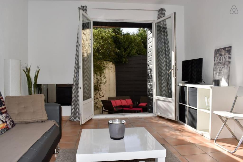 Terrasse  Daire Air Rental - T2 avec terrasse (Fransa Montpellier) - Booking.com