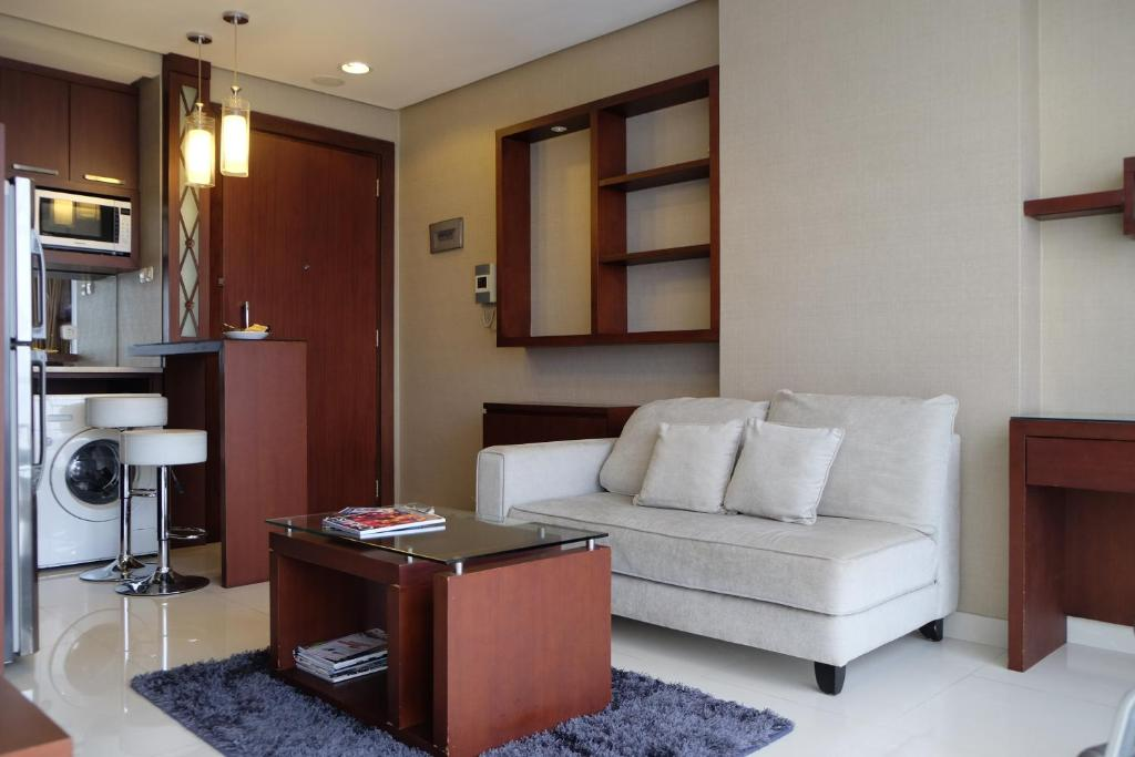 Apartment Large Affordable Studio The Mansion Kemang By Upasana Living Jakarta Indonesia