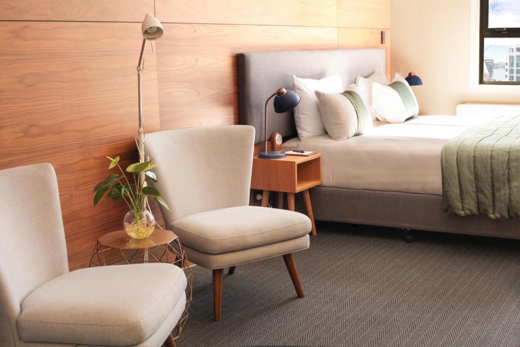 Cama o camas de una habitación en Park Hotel Lambton Quay