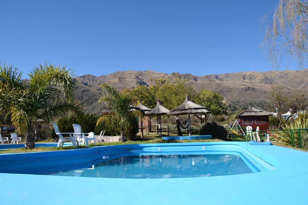 The swimming pool at or near Rincon de los duendes
