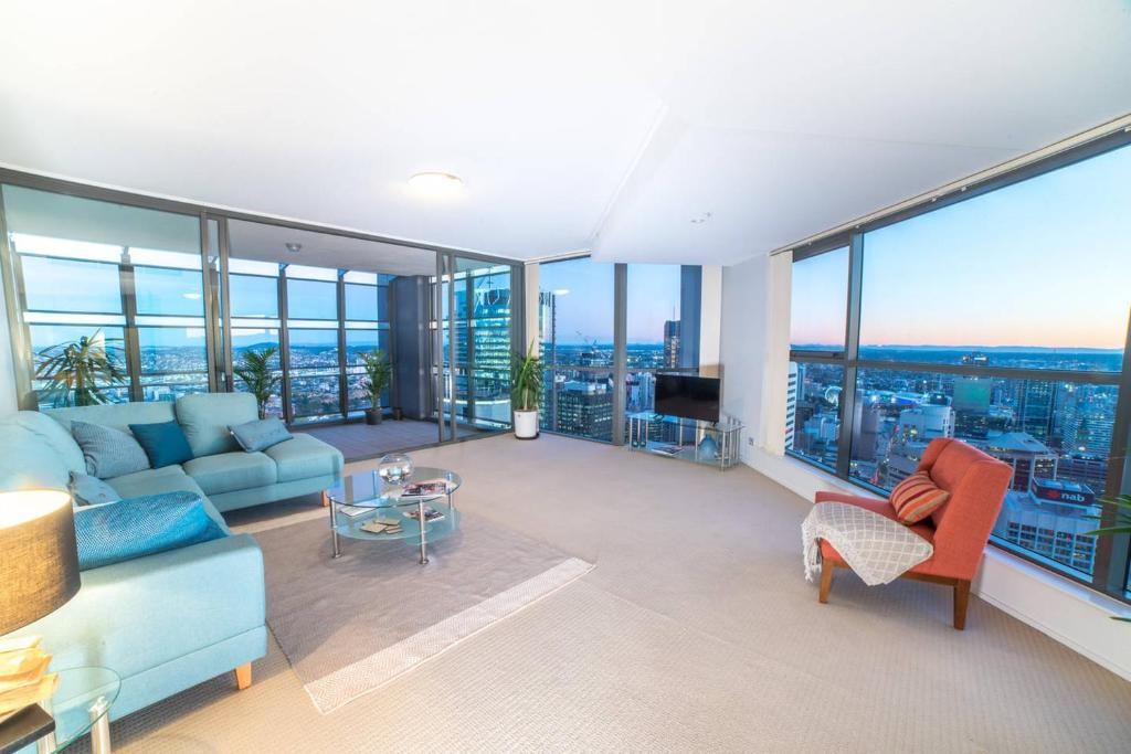 Apartment 215m Two Storey 3 Bedroom Sky Home Brisbane Australia