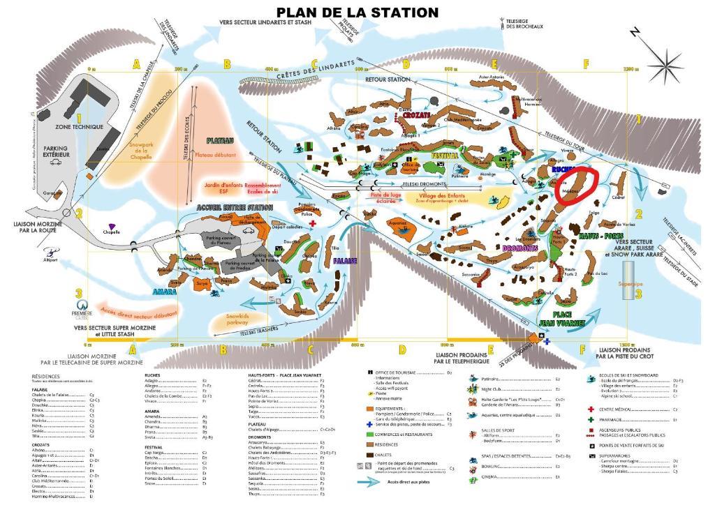 Le Plan Crest La Ville