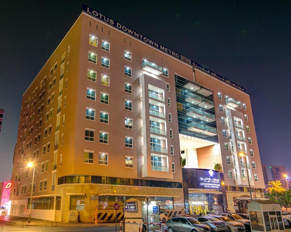 Lotus downtown hotel dubai uae for Dubai hotel booking