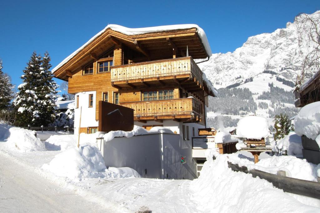 Steinberghaus Apartments during the winter