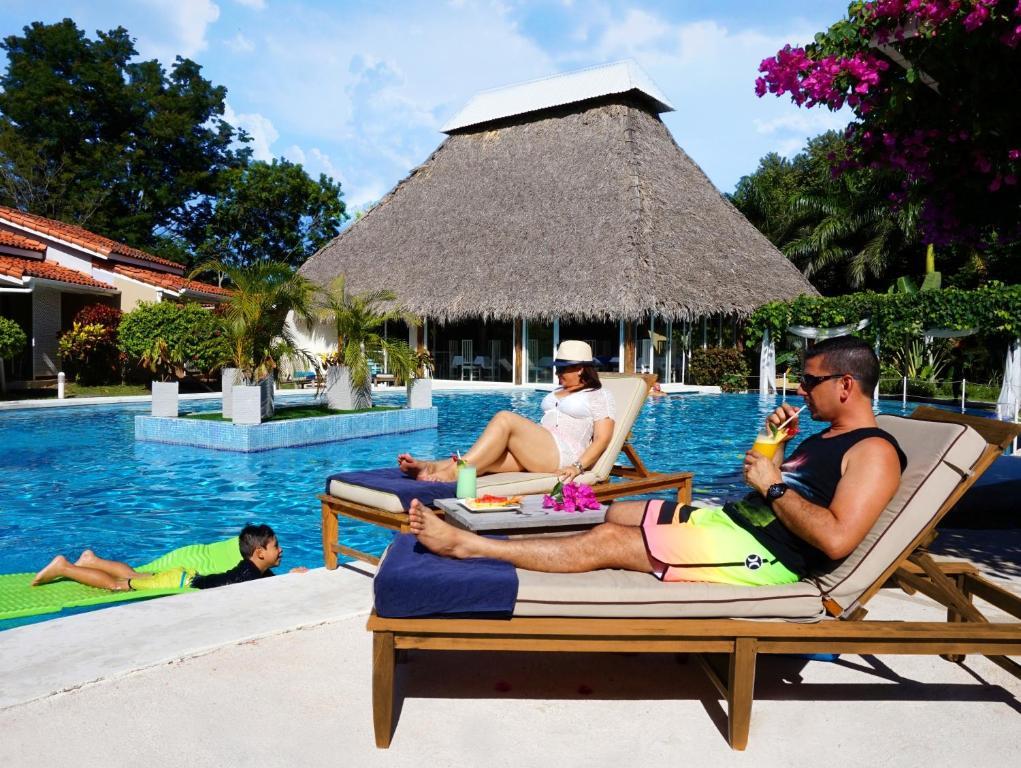 Piscina en o cerca de Seis Playas Hotel