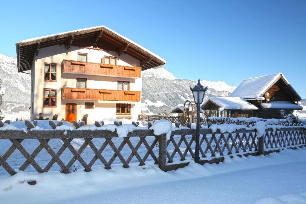 Rosspointnerhof v zimě