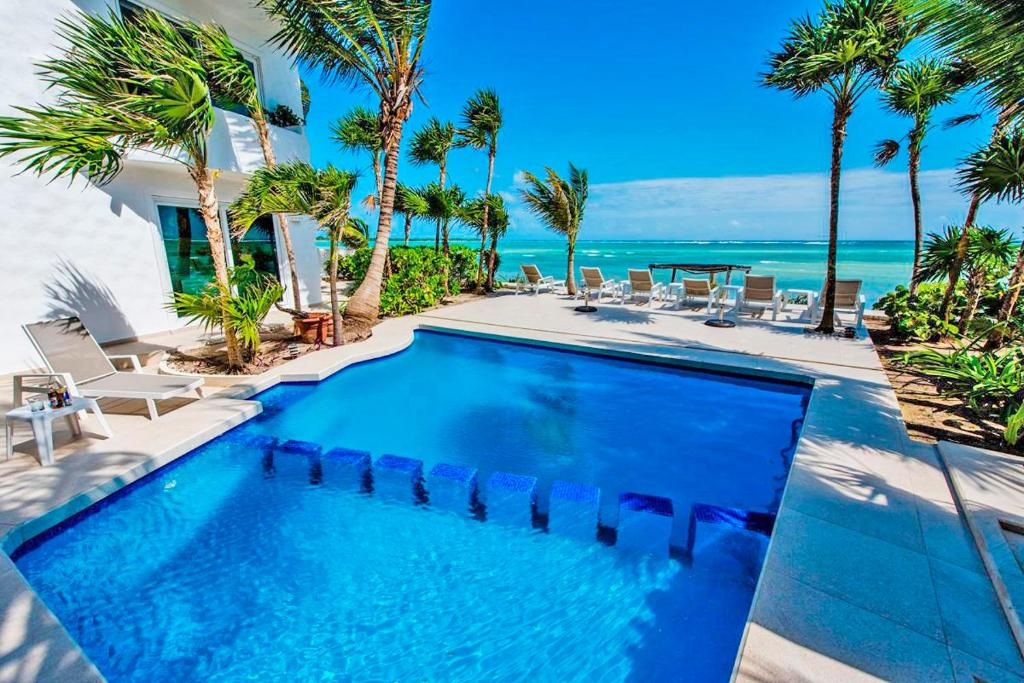 Villa Mar Azul Luxury Villa Tulum Mexico Booking Com