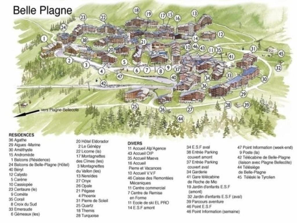 Apartment Phoenix 2 Belle Plagne France Bookingcom