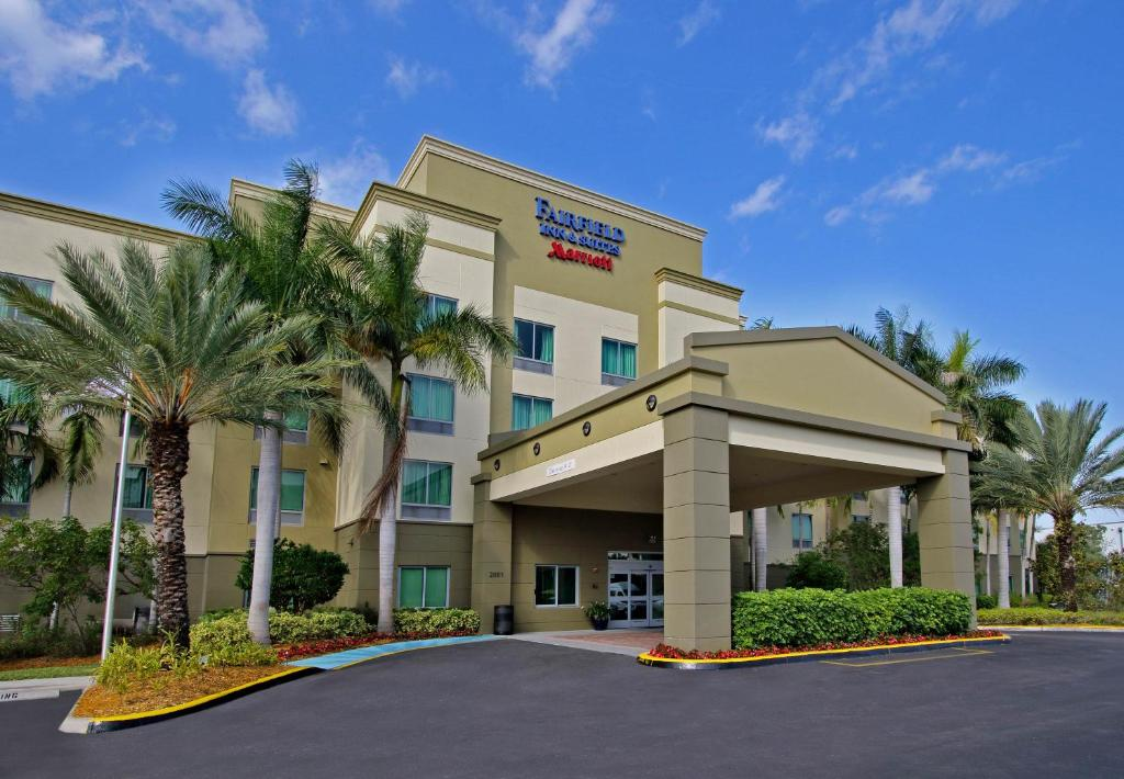 The Fairfield Inn Fort Lauderdale Airport & Cruise Port.