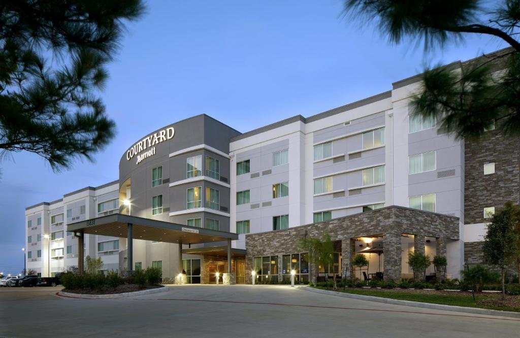 Courtyard By Marriott Houston Intercontinental Airport Hotel Usa Deals