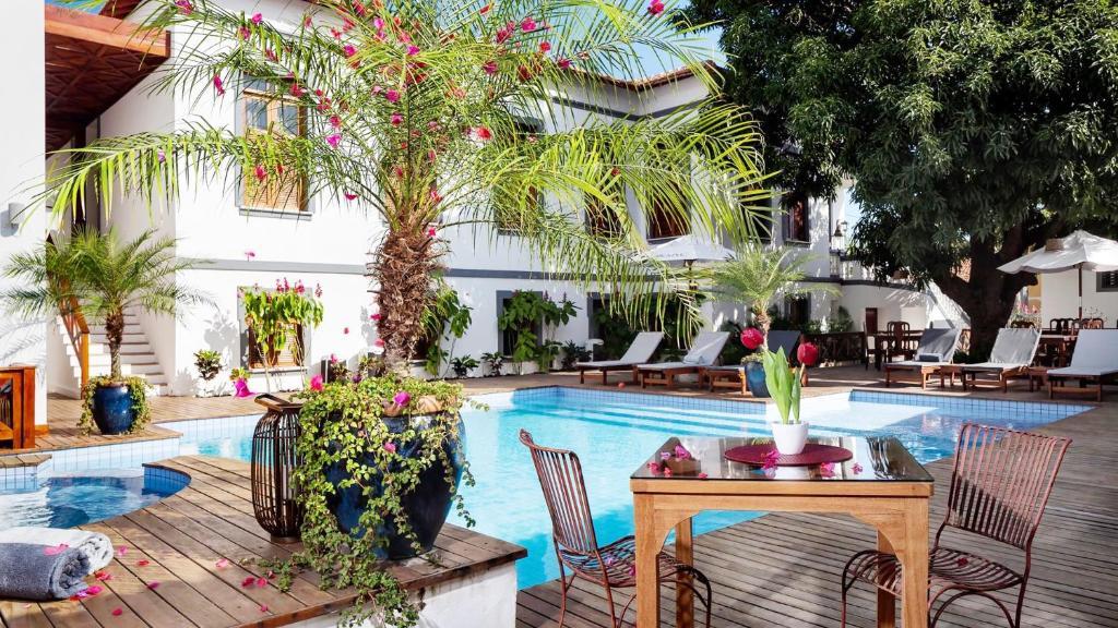 The swimming pool at or near Casa de St. Antônio Hotel Boutique