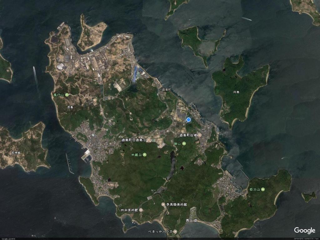 Guesthouse Inkyoya Naoshima Japan Bookingcom - Japan map naoshima