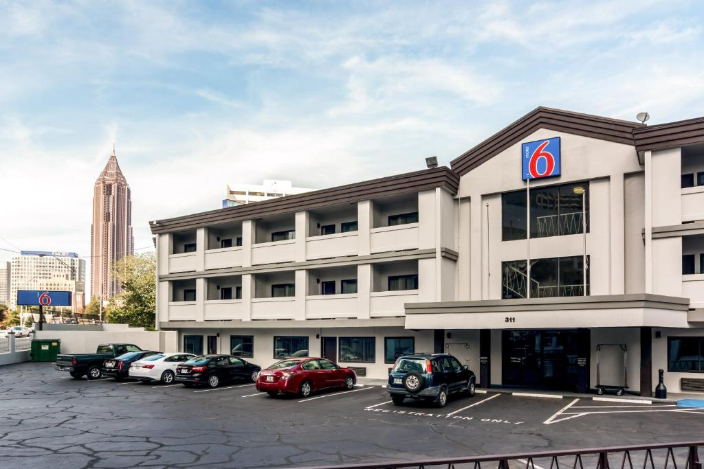 Motel Atlanta Downtown GA Bookingcom - Motel 6 locations map us