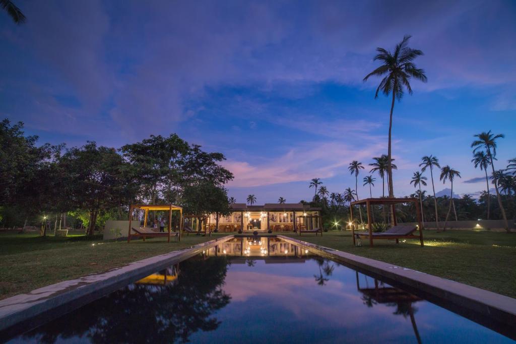 The swimming pool at or near Wirdana Spa & Villas