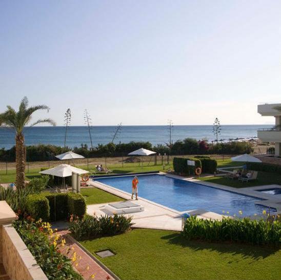 Beach Apartment: Front Line Beach Luxury Apartment In Heaven Beach