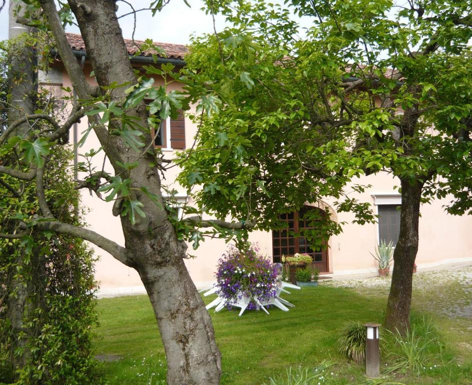 Zahrada ubytování B&B Stazione di posta
