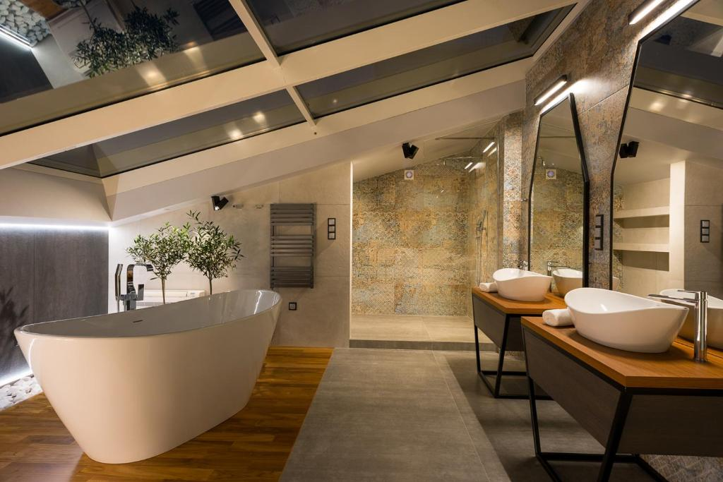 A bathroom at Privilege Suites
