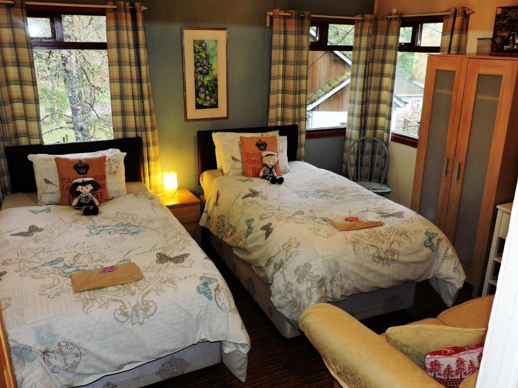 5f546de82156 Отель The Log Cabin (Великобритания Dall) - Booking.com