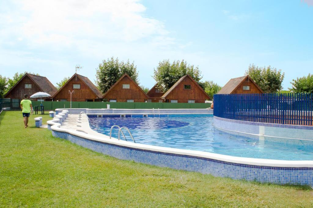 The swimming pool at or close to Arc de Bará Camping & Bungalows