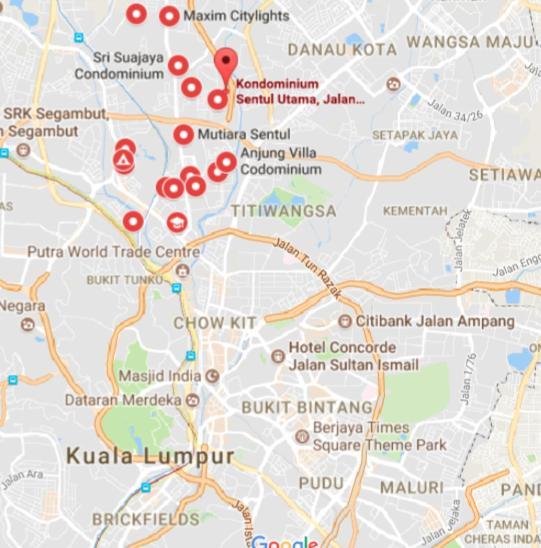 Budget stay at sentul utama kuala lumpur updated 2018 prices gumiabroncs Gallery