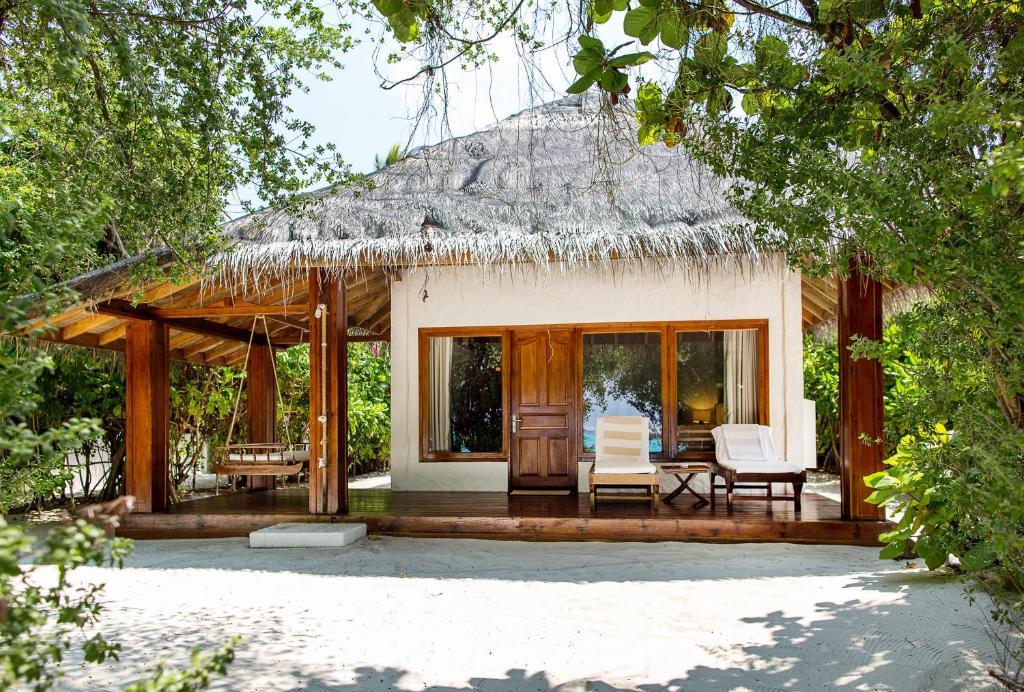 Пляжная вилла на Мальдивах