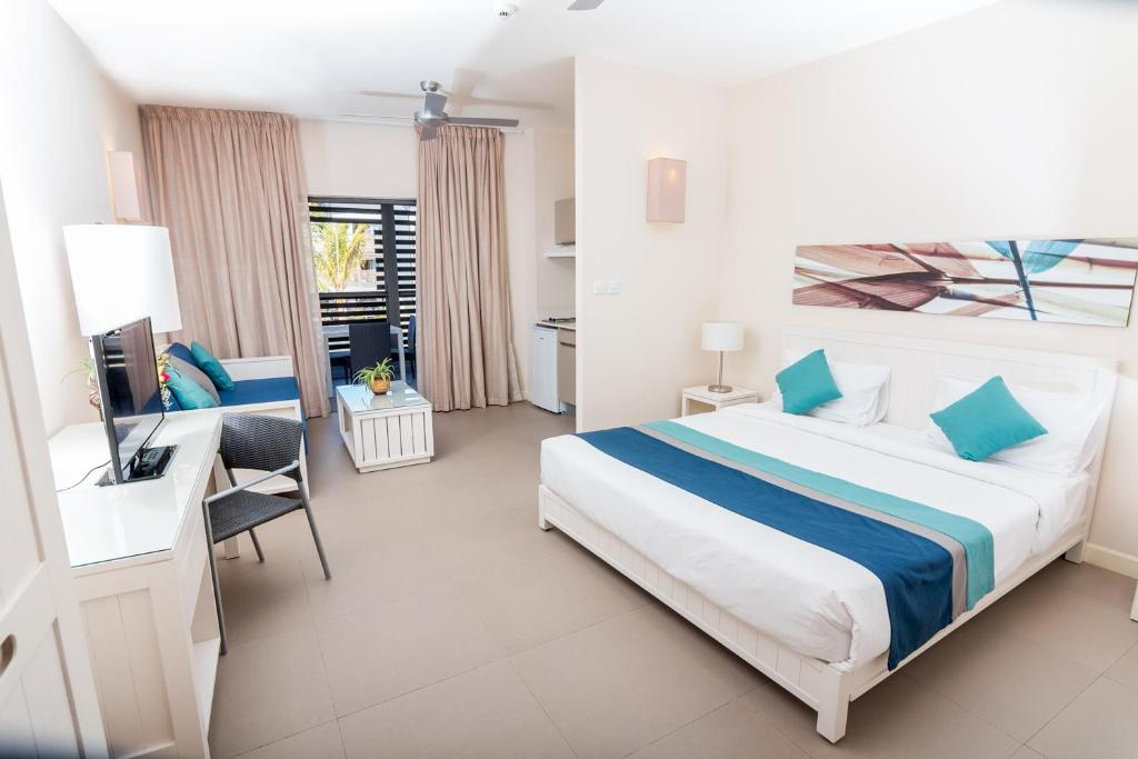 Be cosy apart hotel trou aux biches mauritius for Aparte hotel