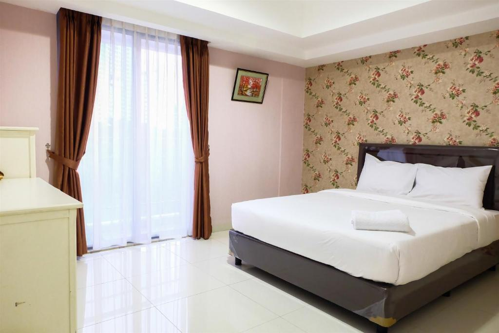 1br Homey The Mansion Apartment Near Golf Kemayoran By Travelio