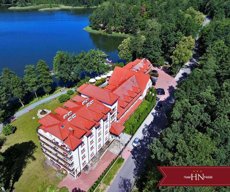 A bird's-eye view of Hotel Nidzki