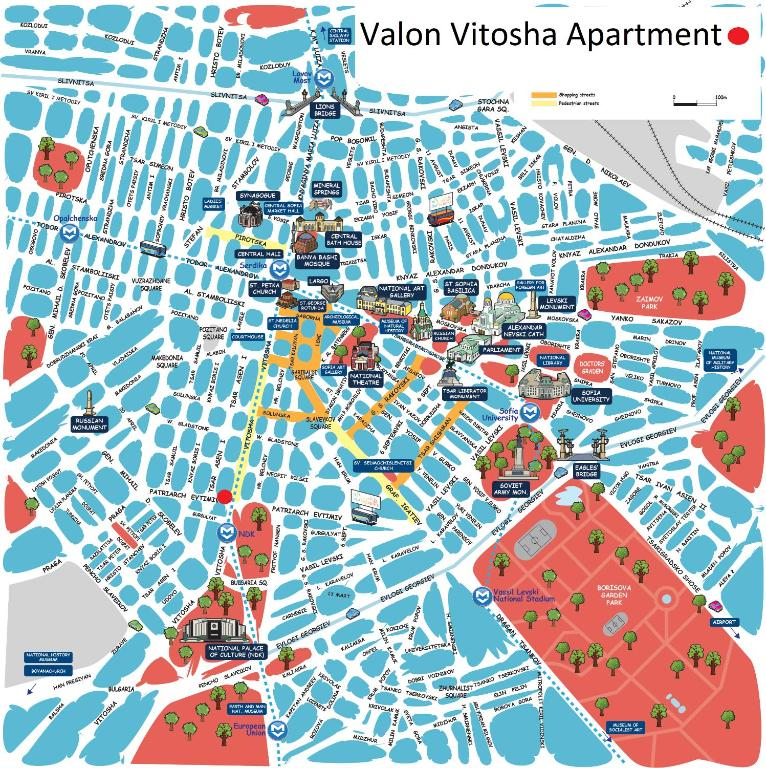 Valon Vitosha Apartment Sofia Bulgaria Bookingcom