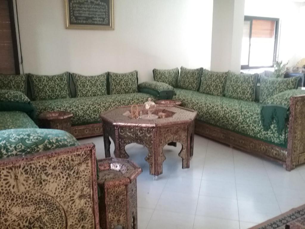 A seating area at Chez SOFIA